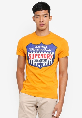 Superdry yellow Reworked Classic Tee D21D7AA3407CBAGS_1