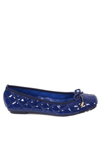 Twenty Eight Shoes blue Comfort Rhombic Stitching Ballerinas  VL309720 A29E4SH3EAE297GS_1