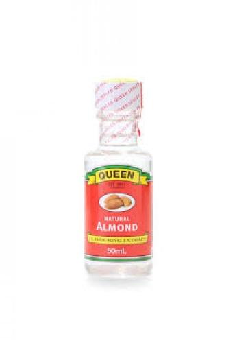 Queen QUEEN NATURAL ALMOND ESSENCE 50ML (CONTAIN ALCOHOL) 5DB54ESAEBA848GS_1