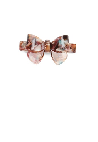 Glamorousky silver Fashion and Simple Color Ribbon Small Hair Slide FD27AAC474CC97GS_1
