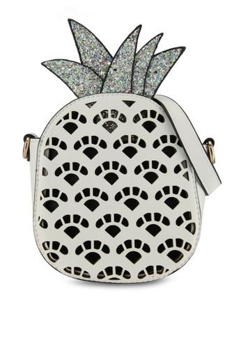 Call It Spring white Kailadia Crossbody Bag DB1DFAC694FD25GS_1