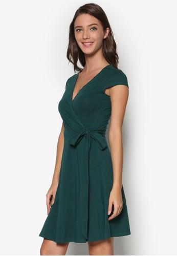 裹飾esprit 價位V 領洋裝, 服飾, 知性女強人