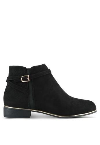 Dorothy Perkins black Black 'Mercine' Ankle Boots DO816SH0SB71MY_1