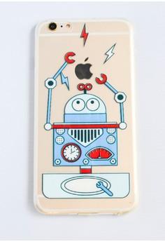 Robot Soft Transparent Case for iPhone 6 plus/ 6s plus