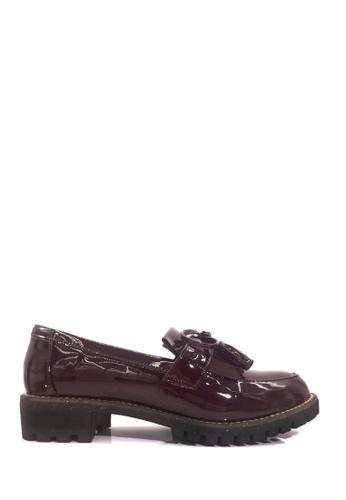 Twenty Eight Shoes 紫色 復古流蘇樂福鞋 VL8382 B1757SH148C18AGS_1