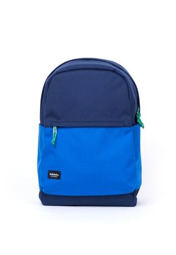 Hellolulu blue Nik Casual Backpack Blue HE247AC88NVJSG_1