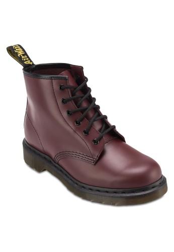 Core zalora 包包 ptt6 對鞋孔真皮踝靴, 女鞋, 靴子