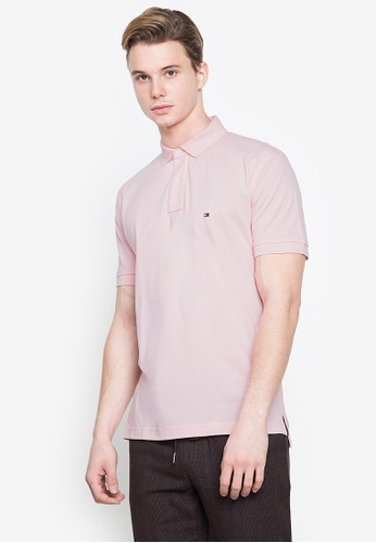 Tommy Hilfiger pink Wcc Tommy Regular Polo Shirt C1900AAB7C5624GS_1