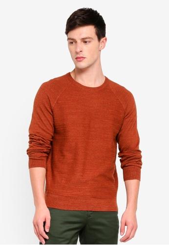 J.Crew 褐色 休閒針織毛衣 FB9EEAAD37C737GS_1
