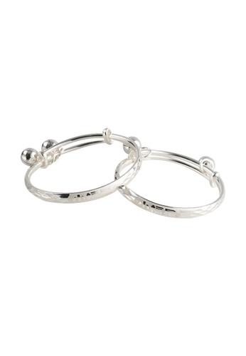 A-Excellence silver Premium S925 Sliver Geometric Ring FA30DAC275FD44GS_1