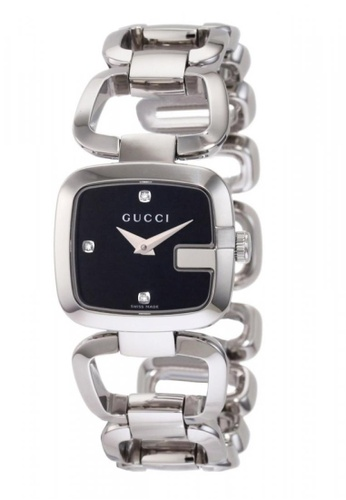 save off 06a82 43628 GUCCI G- Quartz Stainless Steel Ladies Watch