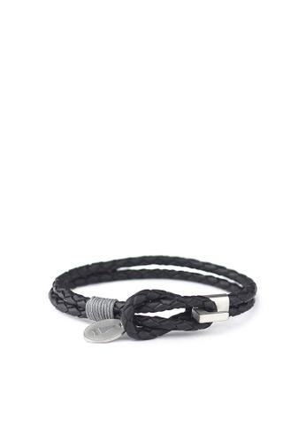 Gnome and Bow black Smith Bracelet 1F440ACBDC3CAFGS_1