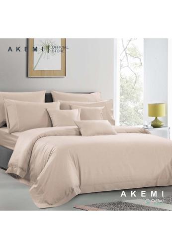 AKEMI pink AKEMI Cotton Select Affinity - Sage Box Whisper Pink (Quilt cover Set) 427ADHLEF382CCGS_1