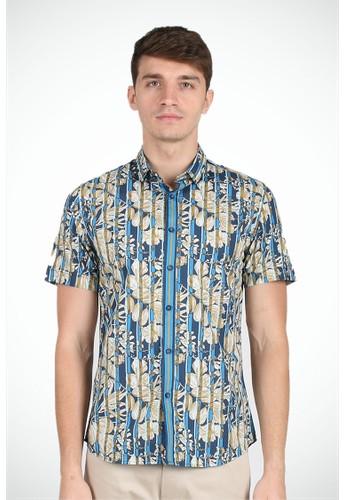 MOC blue CORDOBA-BLUE SS Shirt 53009AAF2FA165GS_1
