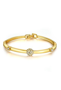 Monica 18K Gold Plated Bangle