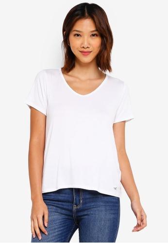 24e1feff0e1b Buy Hollister Short Sleeve Easy Vee T-Shirt Online on ZALORA Singapore