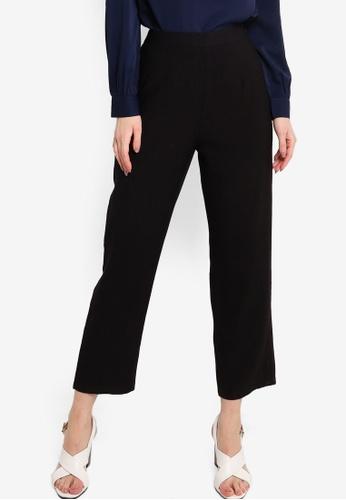 ZALORA WORK black Tailored Long Pants 3DB6BAAE9B2B43GS_1