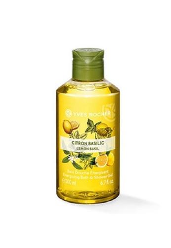 Yves Rocher yellow Yves Rocher Lemon Basil Shower Gel 200ml YV348BE0RW2DMY_1