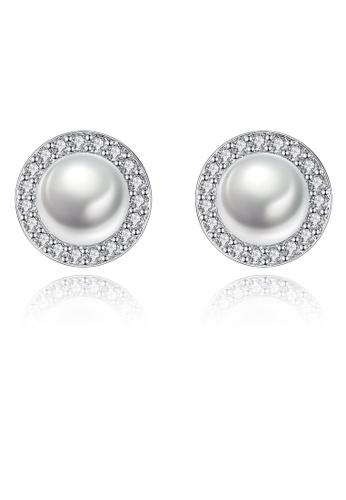 SUNRAIS silver High-grade colored stone silver fashion earrings 15ECBAC004524FGS_1