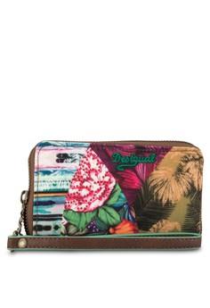 Mone Mini Zip Mentawai New Green Small Wallet