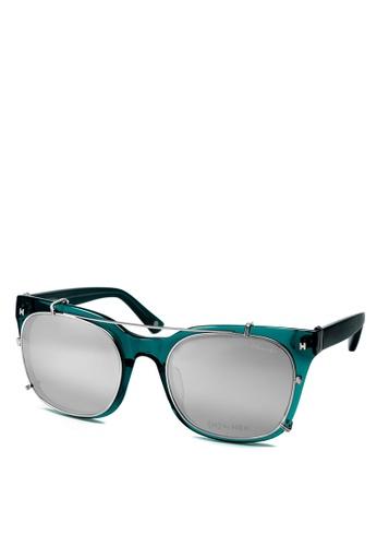 HEX EYEWEAR green Model - Derek Z. - Optical with Clip-on - Italy Design HE671AC2V1JLHK_1