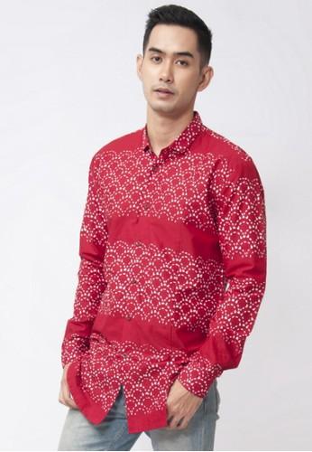 ENOM red Kyou Shirt B3F24AA4C7304FGS_1