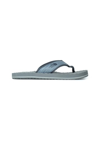 The North Face grey TNF M BASE CAMP FLIP-FLOP ZINC GREY WIND PRINT/WEATHERED A1CEESH8E46BD2GS_1