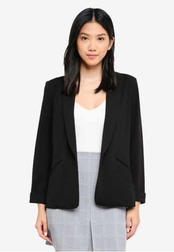 ZALORA BASICS black Tailored Blazer 9BB17AA73A5475GS_1