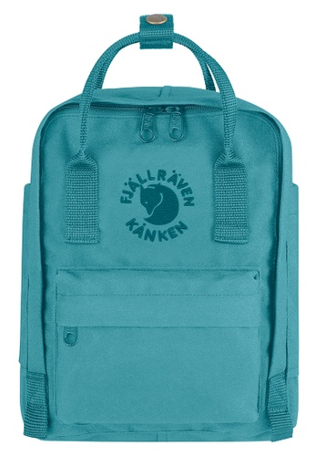 Fjallraven Kanken blue Lagoon Re Kanken Mini Backpack 72C30ACC63FB9CGS_1
