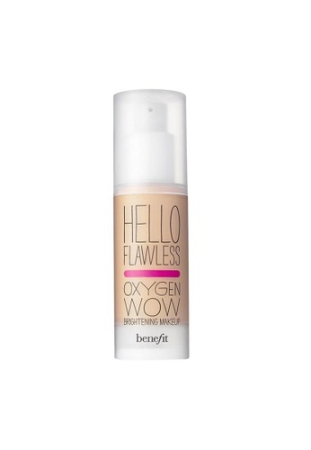 Benefit beige Benefit Hello Flawless! Oxygen Wow Liquid Foundation - Petal, I'm Plush & Precious BE670BE0RQZ5MY_1