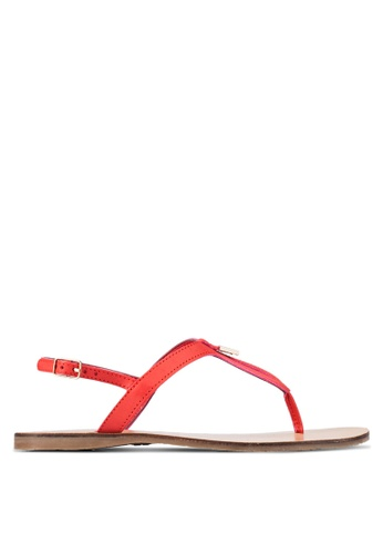 Christy Ng red Luna Red Summer Sandals CH330SH0RXP7MY_1