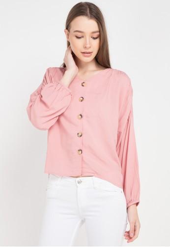 Bodytalk pink Abiguel Blouse 362A0AA42030A0GS_1