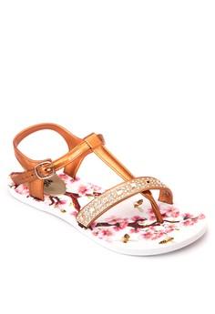 Kari Flat Sandals
