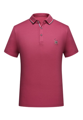 HAPPY FRIDAYS Simple Casual POLO Shirt 6021 12C18AAA1CDE60GS_1