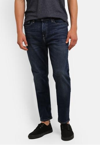 Hollister blue Skinny Dark Process Jeans HO422AA0RNXEMY_1