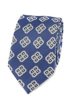 Burton Menswear London-鑽石 領帶 口袋 方形 組
