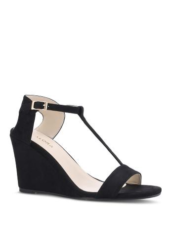 T-Bar Wedge Sandals