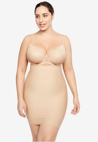 af9c4cf30d3 Shop Violeta by MANGO Plus Size Shapewear Dress Online on ZALORA Philippines