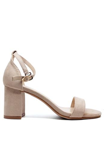 Twenty Eight Shoes 繞帶高踭涼鞋5691-1 2358BSH0A3A9AEGS_1