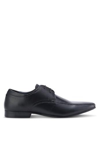 Burton Menswear London black Kenward Shoes BU964SH96DPNMY_1