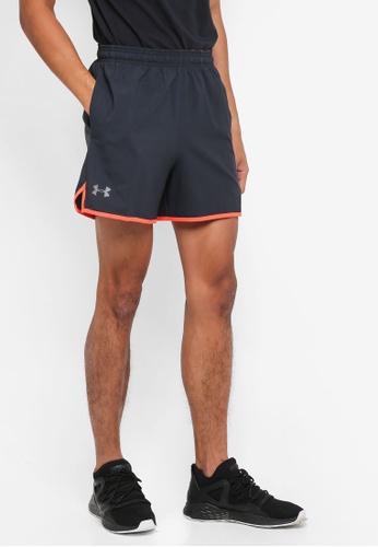 Under Armour navy UA Qualifier 5'' Woven Shorts UN337AA0SU2YMY_1