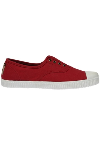 paperplanes red Paperplanes-1351 Casual Low Top Flats Canvas Sneakers Shoes US Women Size PA355SH80PNJSG_1