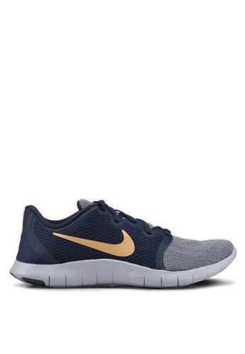 Nike grey and blue Nike Flex Contact 2 Shoes 71B34SH2F8C9F6GS_1