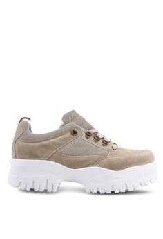 buy online 2ebd9 ceefa TOPSHOP beige Chomp Chunky Trainers 1E4A2SH6BB047BGS 1