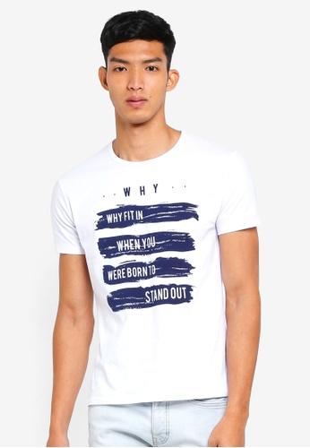 Fidelio 白色 短袖印花T恤 B51B1AA3709663GS_1
