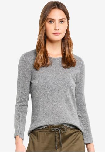 ESPRIT grey Long Sleeve Cardigan 254F9AA4A3606BGS_1