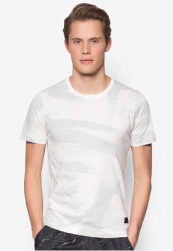 刷印棉質短袖TEE, esprit tw服飾, 印圖T恤