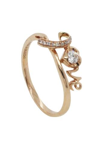 LITZ gold LITZ 18K White Gold Diamond Ring 72CEBACE3B1B8CGS_1