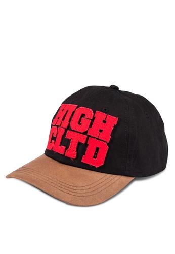 High Cultured black Casual Cap HI002AC0S1VWMY_1