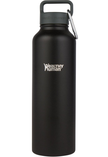 Healthy Human black 40oz Vacuum Insulated Stainless Steel Bottle 0304AACC465647GS_1